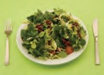 Green salad (150 grams) - 5 grams of carbs