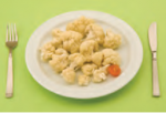 Cauliflower (300 grams) - 10 grams of carbs