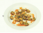 Mussels (43 grams) - 8.4 grams of protein