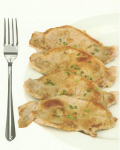 Pork tenderloin (150 grams) - 19.6 grams of protein