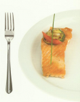 Salmon (150 grams) - 30 grams of protein.
