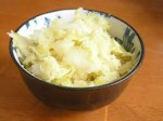 Sauerkraut (140 grams or 1 cup) - 3 grams of net carbs and 1 gram of protein